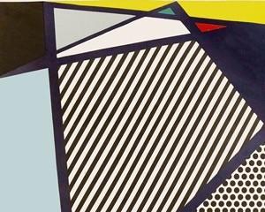 Imperfect Print for B.A.M. by Roy Lichtenstein