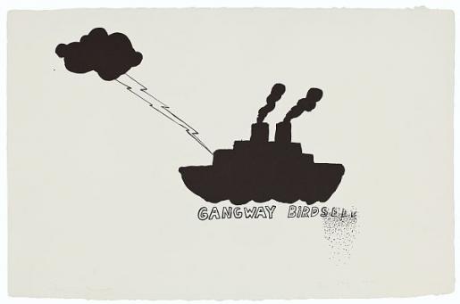 Jim Dine, Gangway, 1970