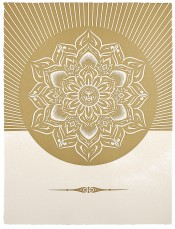 Obey Lotus Diamond (White & Gold)