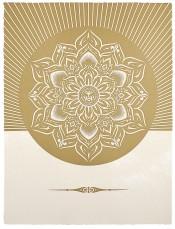 Obey Lotus Diamond (White & Gold)