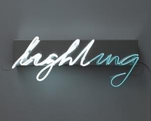 Lighting by Brigitte Kowanz