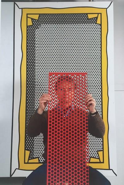 Thomas Hoepker, Roy Lichtenstein, 1982