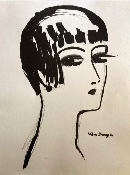 Kees van Dongen, Les Cheveux Courts, 1924