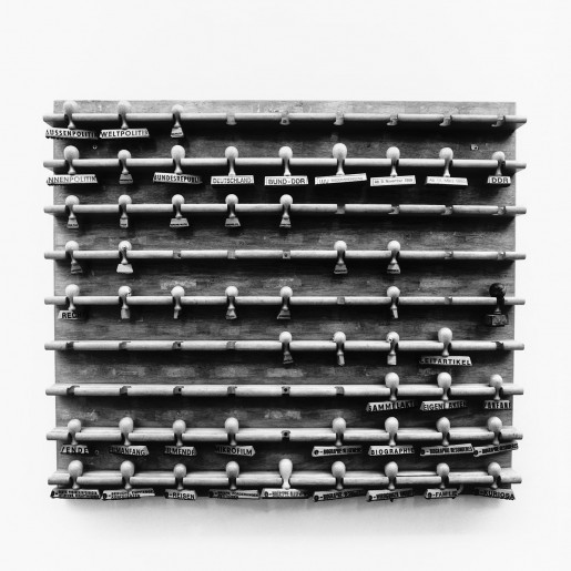 Julian Rosefeldt, Archive of Archives (Stamps at newspaper archive of Süddeutsche Zeitung), 1995