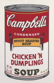 "Chicken N' Dumplings (FS II.58), from the Portfolio ""Campbell's Soup II"""