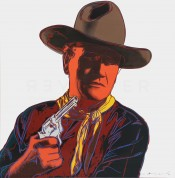 "John Wayne (FS II.377), from the Portfolio ""Cowboys and Indians"""