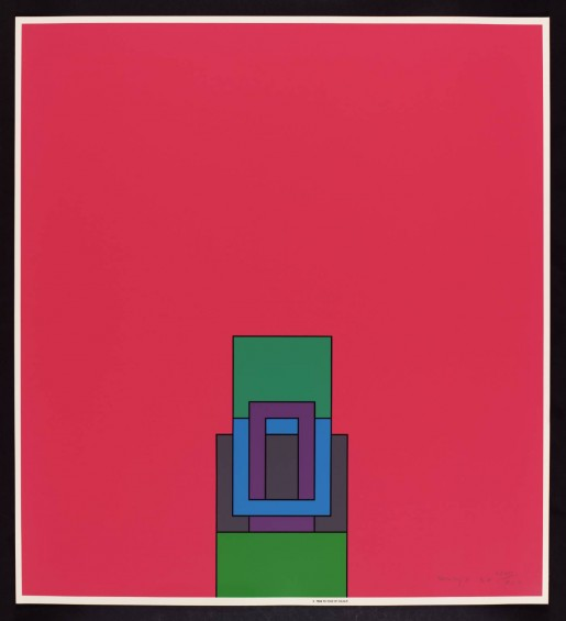 Robyn Denny, The Heavenly Suite (pink), 1971