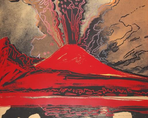Andy Warhol, Vesuvius, 1985