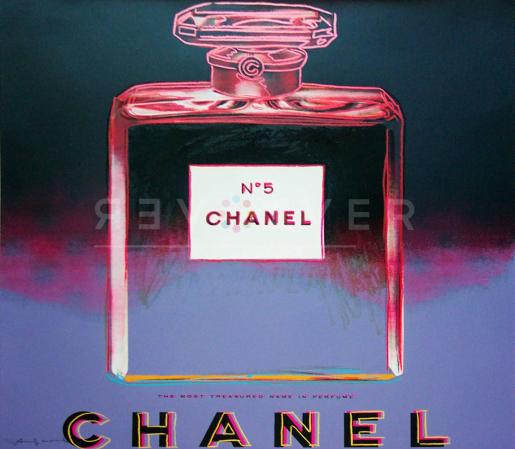 Andy Warhol, Chanel (FS II.354), 1985