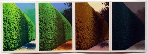 "Ivor Abrahams, Four Seasons (from ""Eighteen Small Prints""), 1973"