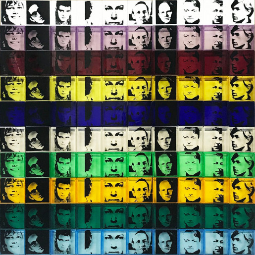 Andy Warhol, Portraits of the Artists (FS II.17), 1967