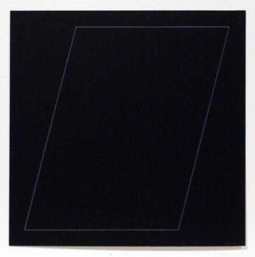 Sol LeWitt, Six Geometric Figures - Parallelogram, 1977