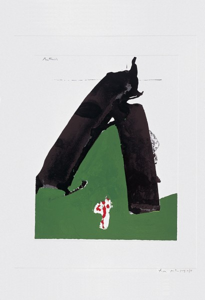 Robert Motherwell, The Basque Suite: Untitled, 1971