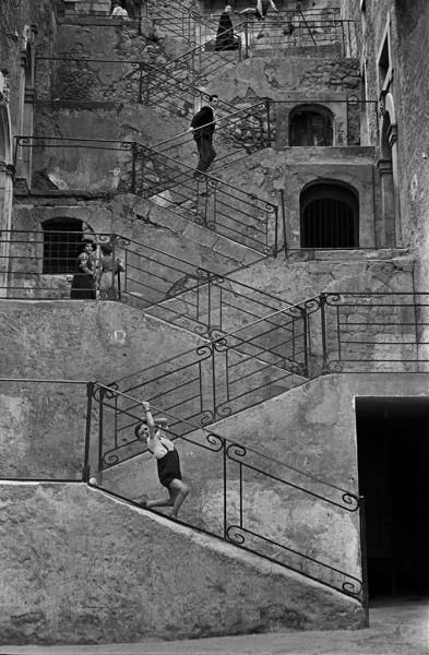 René Burri, Leonforte, Sicily, Italy, 1956