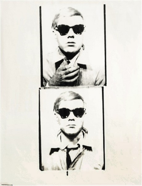 Andy Warhol, Self Portrait, 1978