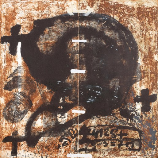 Antoni Tàpies, Diptic, 1988