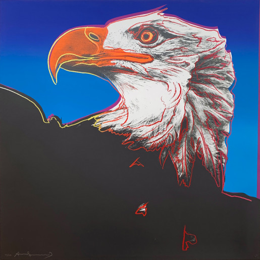 "Andy Warhol, Bald Eagle  FS II.296, from the Portfolio ""Endangered Species"", 1983"