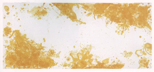 Sam Francis, Spleen (Yellow), 1971
