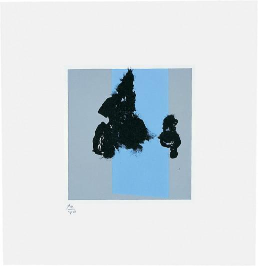 Robert Motherwell, Paris Suite IV (Winter), 1980