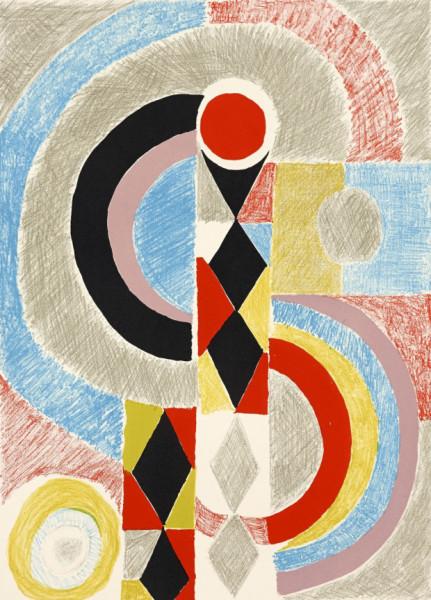 Sonia Delaunay, Totem, 1970