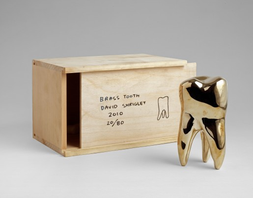 David Shrigley, Brass Tooth, 2010
