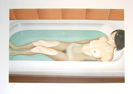 Mel Ramos, Bonnards Bath, 1979
