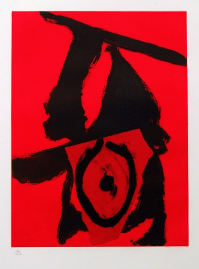 The Red Queen by Robert Motherwell