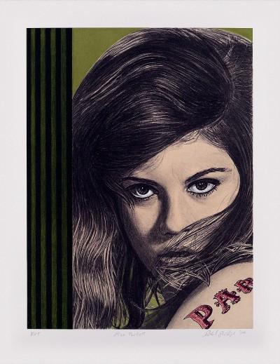 Miss Parkett by Richard Phillips