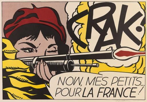 Roy Lichtenstein, Crak!, 1963-64