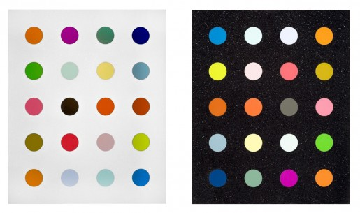 Damien Hirst, 3-Methyldimidine + Methylamine-13c, 2014