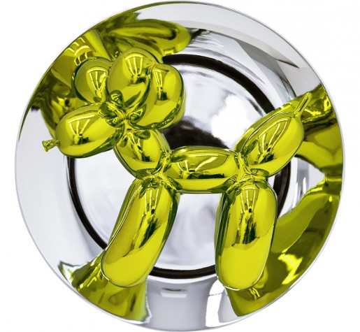 Jeff Koons, Balloon Dog (Yellow), 2015