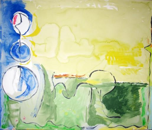 Helen Frankenthaler, Flotilla, 2006