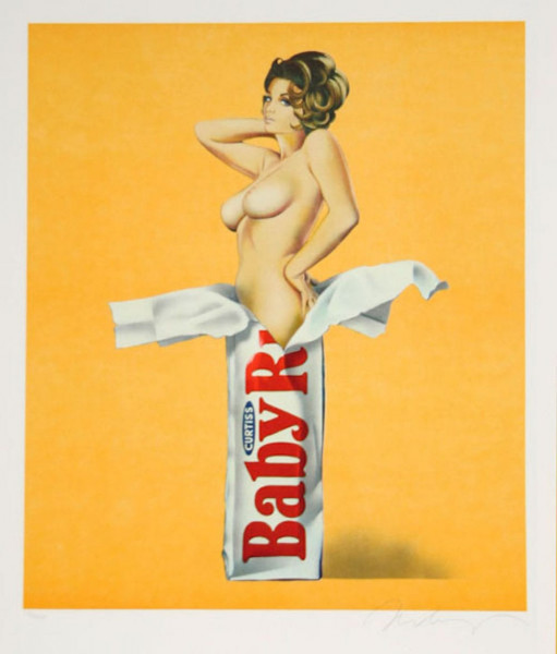 Mel Ramos, Candy, 1979
