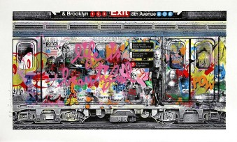 Chelsea Express Pink by Mr. Brainwash
