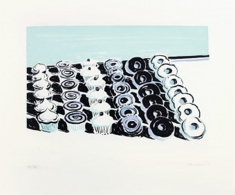 Cupcakes and Donuts by Wayne Thiebaud