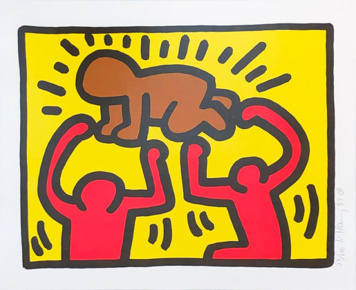Keith Haring, Pop Shop IV (B), 1989