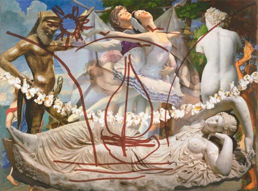 Jeff Koons, Antiquity (Ariadne Titian Bacchus Popcorn), 2019