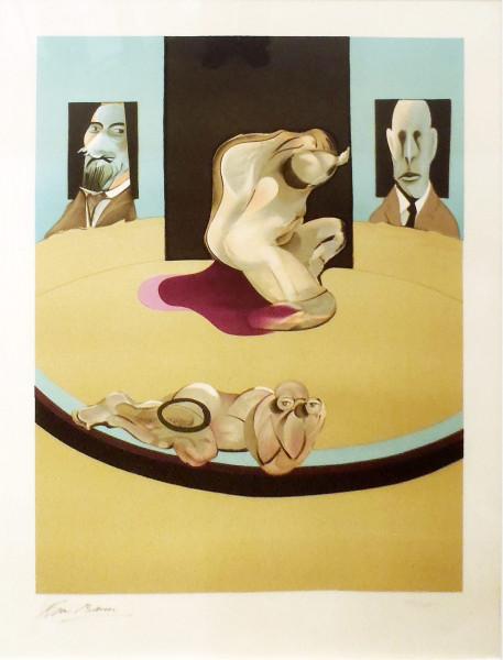 Francis Bacon, Metropolitan, 1975