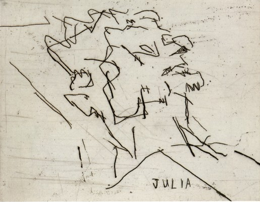 Frank Auerbach, Julia, 1994