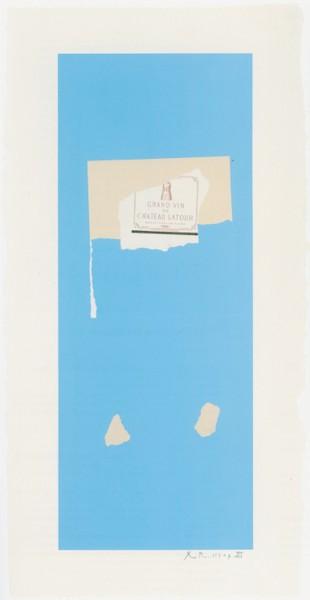 Robert Motherwell, Summer Light Series: Pauillac, No.4, 1973