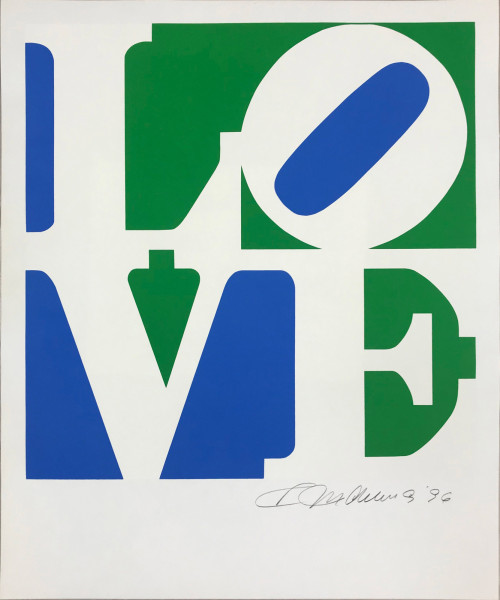 Robert Indiana, The Book of Love 8, 1996