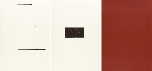Blinky Palermo, Mappe zur Wandmalerei, Hamburger Kunstverein (Jahn 33), 1973