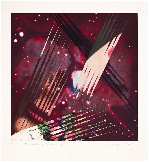James Rosenquist, The Persistence of Electrons in Space, 1987