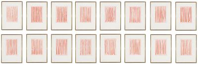 Linien I by Günther Förg