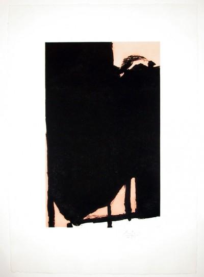 Elegy Fragment II by Robert Motherwell