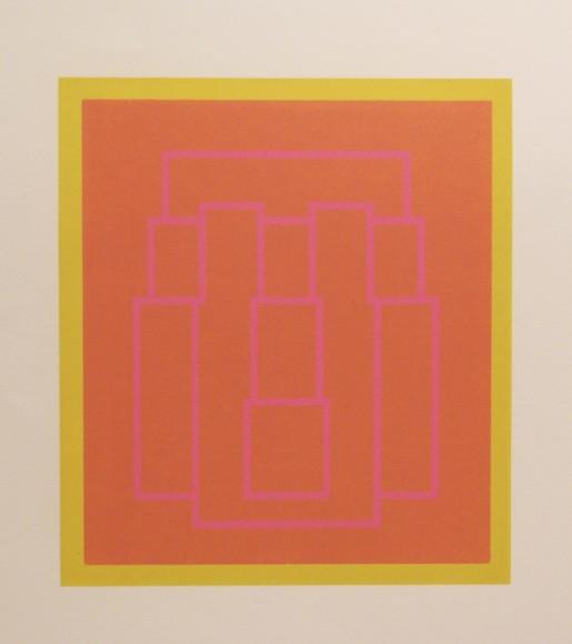 Robyn Denny, Portraits (Series A), III, 1970
