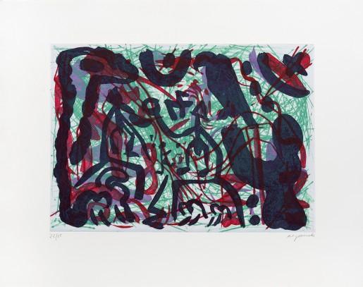 A.R. Penck, Dschungel, 1989