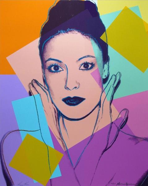 Andy Warhol, Karen Kain (FS II.236), 1980