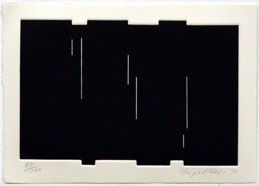 """Nigel Hall, Untitled (from """"Eighteen Small Prints""""), 1973"""