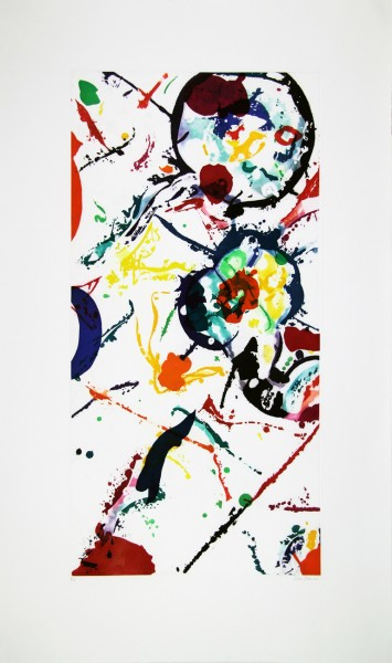Sam Francis, Untitled, 1990